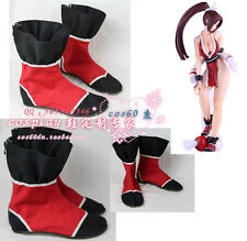 The King of Fighters MAI SHIRANUI Classic Cosplay Shoes Boots S008