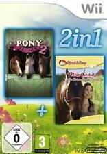 Nintendo Wii PFERD UND PONY MEIN GESTÜT *DEUTSCH * OVP inkl Pony Friends 2 Sehr