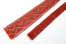 Vintage TOOTAL KNITTED CROCHETED NECK TIE