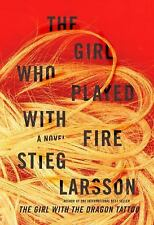 The Girl Who Played with Fire (Random House Large Print)-ExLibrary