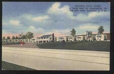 Postcard HARRISBURG Pennsylvania/PA  Miller's Auto Court Cottages view 1930's