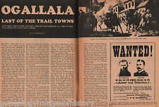 Ogallala - New Cowboy Town of The Old West Trail