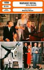 FICHE CINEMA : MARIAGE ROYAL - Astaire,Powell,Lawford,Donen 1950 Royal Wedding