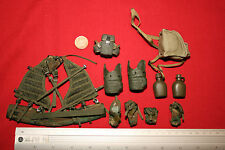 Dragon 1/6th Scale Moderno U.s. Army Task Force Chaleco Y Bolsas De Leon