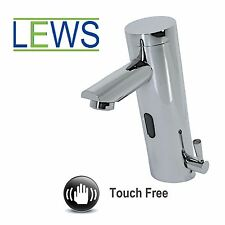 Touch Free Sensor Mixer Tap - Water Energy Saving IR Infra Red Hygienic Chrome