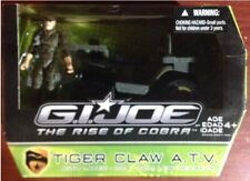 GI Joe The Rise of Cobra ROC Tiger Claw ATV w/ Leatherneck Action Figure