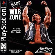 WWF Warzone - PS1 PS2 Complete Playstation Game