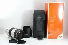 Sony SAL-70200G 70-200mm F/2.8 APO AF SSM G Lens  w/ Box & Case