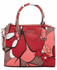 NEW %100 AUTHENTIC GUESS Liya Petite Girlfriend RED MULTI ONLY ONE LEFT