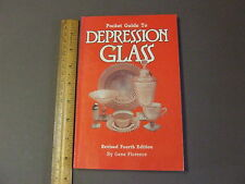 ANTIQUE COLLECTORS REFERENCE BOOK POCKET GUIDE DEPRESSION GLASS 4  GENE FLORENCE