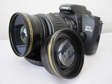Wide Angle Zoom Lens For Canon Eos Digital Rebel  xti t5i sl1 xt  t3i w/18-55 r