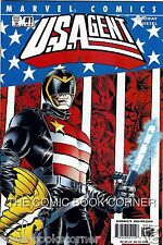 Marve Comics 2001 U.S. AGENT #1-3 Complete Series Set Lot Captain America US