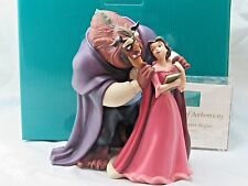 "WDCC ""A New Chapter Begins"" Belle and Beast Beauty and the Beast in Box, COA"