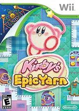 Kirby's Epic Yarn - Nintendo  Wii Game