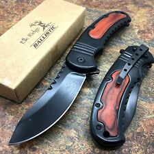 Elk Ridge Pakkawood Handle Camping Hunting Rescue Pocket Knife ER-A014PW