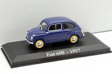 Fiat 600 Anno di costruzione 1957 1 blu:43 Altaya