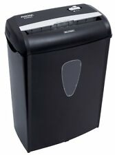 Aurora Sheet Cross Cut Paper Credit Card Shredder Basket Office Home Work Safety