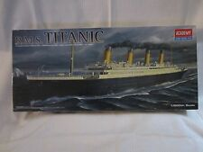 R.M.S. Titanic Model Kit  Academy 1/600th scale 17.32 inch long  #1459 complete