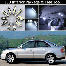 8PCS Error Free LED Interior Lights Package kit Fit 2001-2004 AUDI A4 B6 8E J1