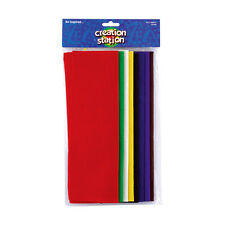 Felt Sheets Creation Station A4 Felt Sheet ASSORTED Pack of 8 bright colorCS3200