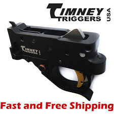 Timeny Ruger 10/22 Drop-In Competiton Trigger Group - Black Housing & Glod Shoe