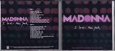 MADONNA - I LOVE NEW YORK PROMO DOUBLE REMIX CD SINGLE DANCE DOUBLE CD