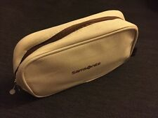 LUFTHANSA SAMSONITE BUSINESS CLASS Brown Lettering AMENITY KIT New SEALED