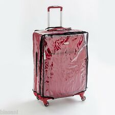 "Blasani™ ""L"" Luggage Cover Protector Suitcase Clear PVC Cover Fits 26""~27"" Bags"