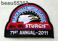 STURGIS CHAMBER SOUTH DAKOTA 71st  2011 RALLY VEST JACKET PATCH
