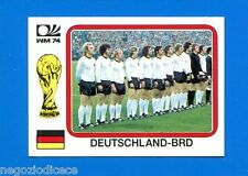 WORLD CUP STORY Panini - Figurina-Sticker n. 67 - DEUTSCHLAND -BRD-MONACO 74-New