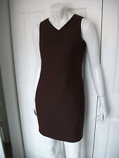 WMNS 6 SLEEVELESS V-NECK DRESS PURPLE-ISH METALLIC LOOK by STYLE MODA ITALIANA