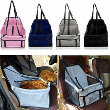 Small Pet Car Booster Seat & Carrier For Dog Puppy Cat Travel Bag Waterproof