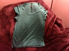 Biba Vintage Style Size 10 Christmas Green Ladies Top