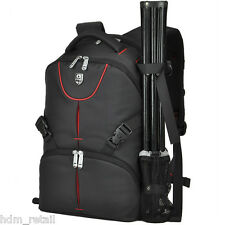 Camera DSLR SLR & Laptop Backpack Rucksack Bag Case For Nikon Sony Canon