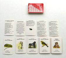 Ancien Jeu de cartes 7 Familles -    Jeu collector publicitaire AGFA  - Animaux