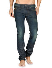 DIESEL JEANS MENS NWT THANAZ SKINNY SLIM MADE IN ITALY JEANS 0887K 30 x 32'