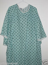 1 TIE BACK 10XL  HOSPITAL PATIENT GOWN MEDICAL EXAM GOWNS EXTRA LARGE GOWNS