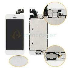 New LCD Lens Touch Screen Digitizer Assembly W/Home Replacement for iPhone 5 A+