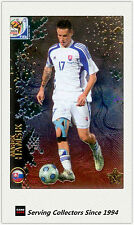 #166 Marek Hamsik Star Metalized 2010 World Cup Soccer Card