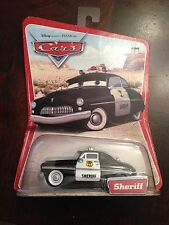 Disney Pixar Cars SHERIFF 1ST EDITION NEW IN BOX! MINT!