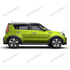 FOR KIA SOUL Painted Body Side Mouldings Moldings Trim 2014-2015