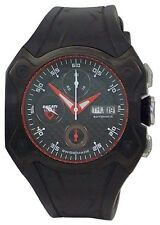 Ducati CW0017 Desmo Black Red Accent Automatic Chronograph Swiss Made Mens Watch