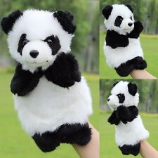 Panda Hand Puppet Baby Kids Plush Doll Baby Kids Story Telling Educational Toys