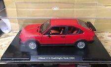 """DIE CAST """" ALFASUD 1.5 TI QUADRIFOGLIO VERDE (1982) """" SCALA 1/24  AUTO VINTAGE"""