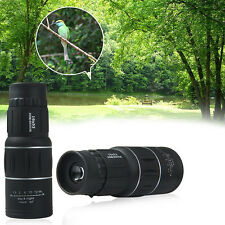 Day Night Vision 16 x 52 HD Optical Monocular Hunting Camping Hiking Telescope