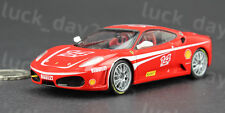 Enterbay Diecast FERRARI F430 SCUDERIA Challenge Red #14 1/43 Model (NO BOX)