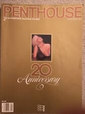 PENTHOUSE September 1989 20th Anniversary Issue
