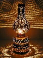 Handcrafted Vintage Moroccan Table Brass Lamp Shades Lighting