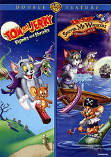 Tom and Jerry: Hijinks and Shrieks/Shiver Me Whiskers (DVD, 2014, 2-Disc Set)