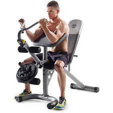 Adjustable Workout Bench Home Exercise Weight Fitness Gym Equipment Machine Abs
